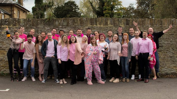 Outlook team Breast Cancer Awareness Month