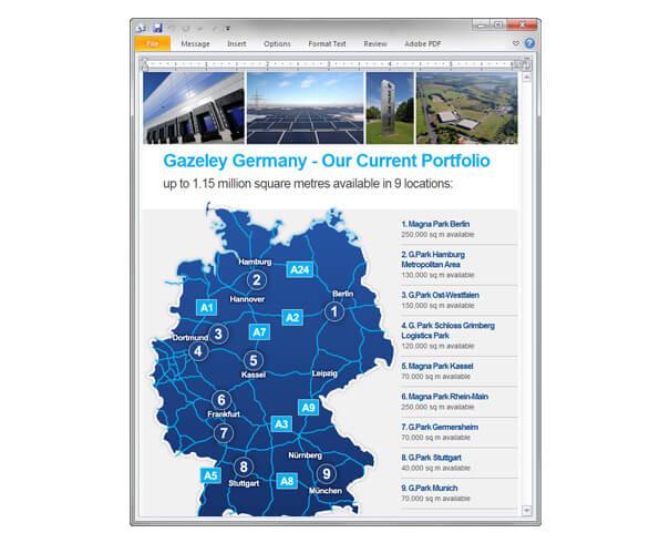 Gazeley Germany